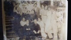 Réunion de famille en 1912 en Pologne